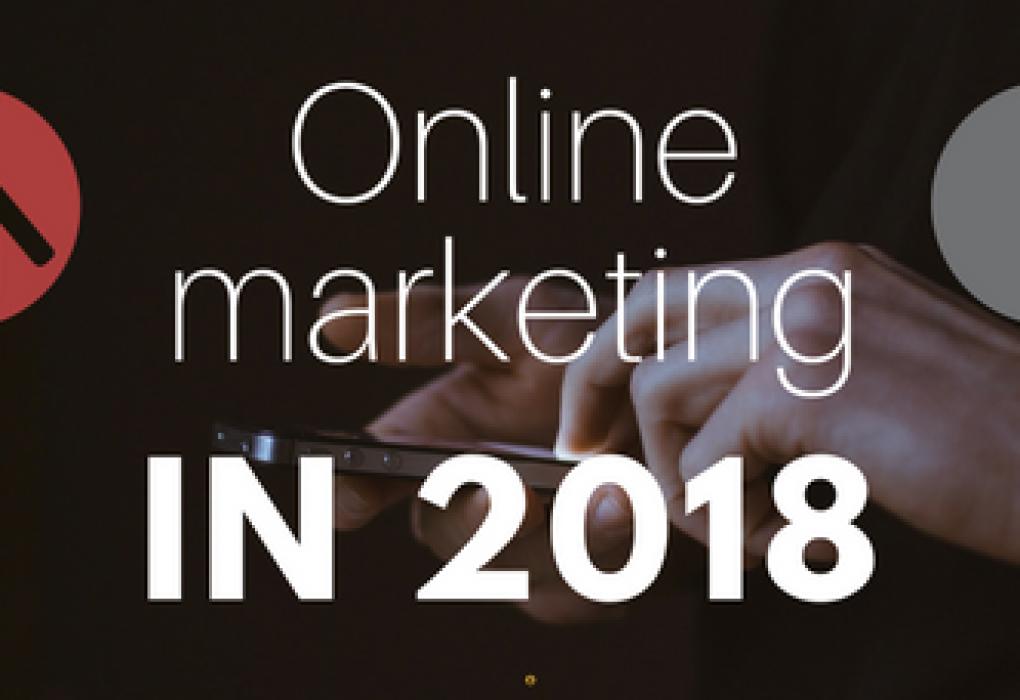 Afbeelding voor Online marketing trends in 2018