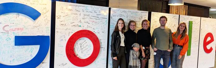 Onyourline op bezoek bij Google in Dublin