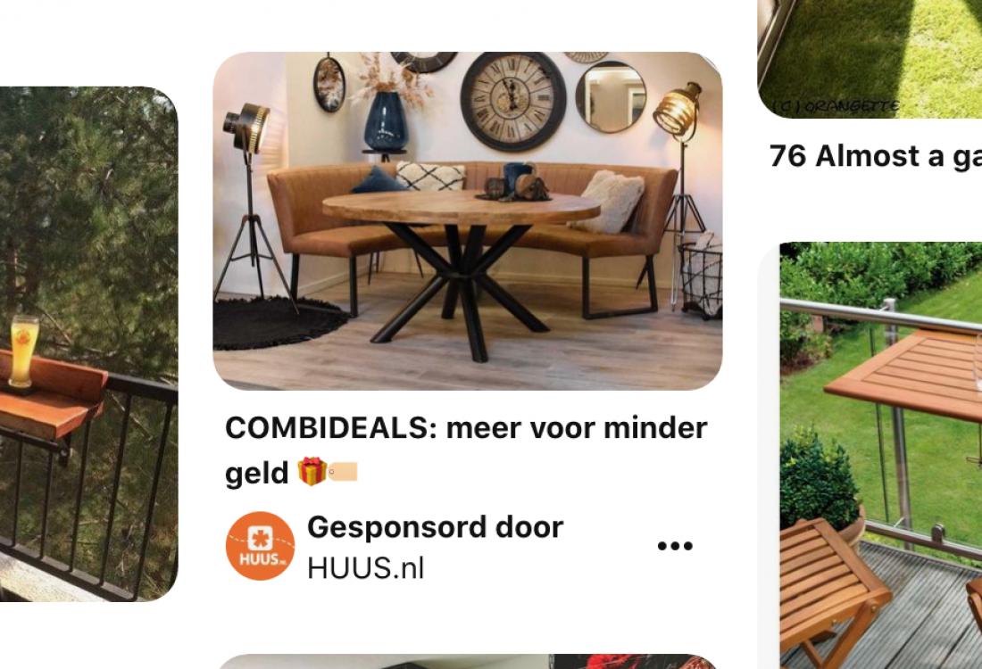 Nieuw in Nederland: adverteren op Pintest