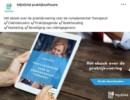 LinkedIn advertentievoorbeeld