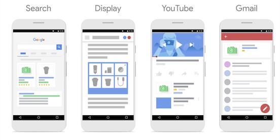 Google Shopping ads plaatsingen